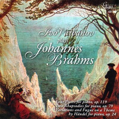 JOHANNES BRAHMS · IVO VARBANOV, piano