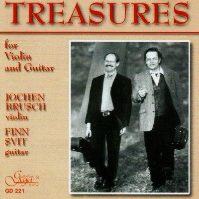 TREASURES FOR VIOLIN AND GUITAR