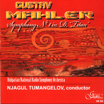 "GUSTAV MAHLER · SYMPHONY No. 1 in D MAJOR ""Titan"""
