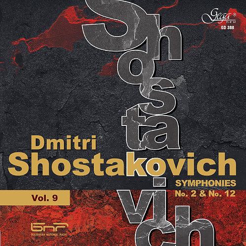 DMITRI SHOSTAKOVICH · SYMPHONIES, VOL.9
