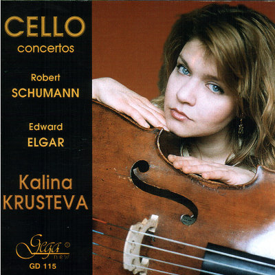 CELLO CONCERTOS · SCHUMANN AND ELGAR