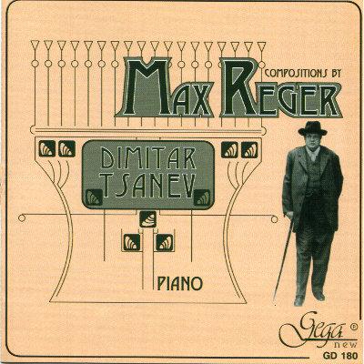 MAX REGER · PIANO COMPOSITIONS