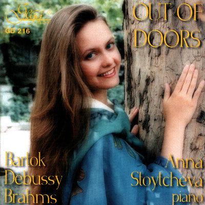 BARTOK · DEBUSSY · BRAHMS · ANNA STOYTCHEVA, piano