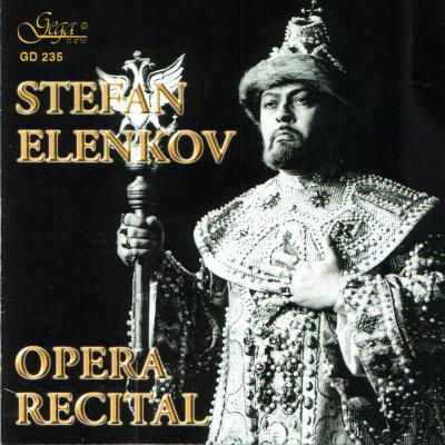 ARIAS FROM OPERAS · STEFAN ELENKOV, bass