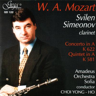 W. A. MOZART · CLARINET CONCERTOS