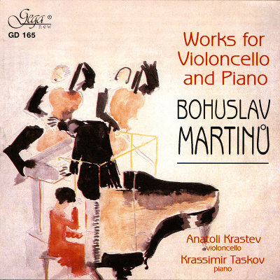 BOHUSLAV MARTINU · WORKS FOR VIOLONCELLO AND PIANO