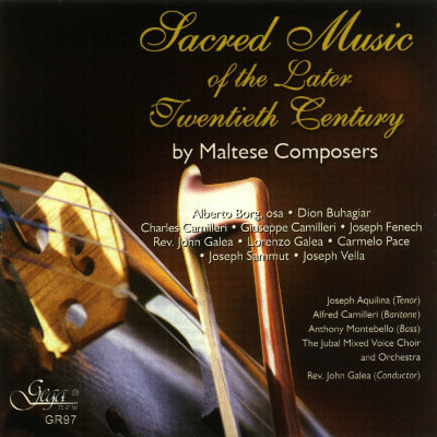 SACRED MUSIC OF THE LATER 20th CENTURY BY MALTESE COMPOSERS