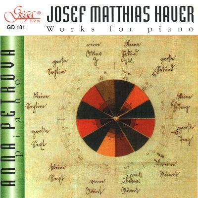 JOSEF MATTHIAS HAUER · PIANO WORKS