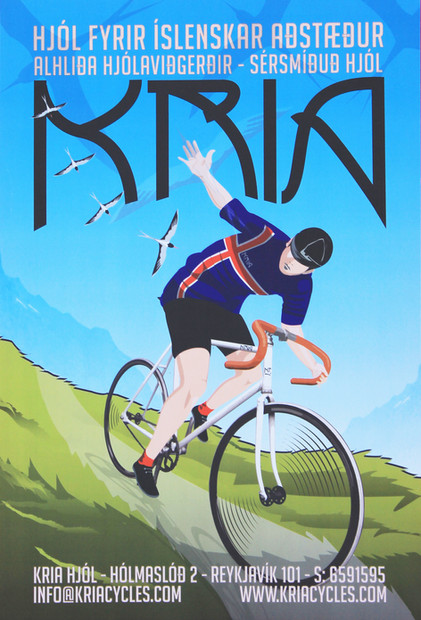 Kria Cycles | Reykjavic