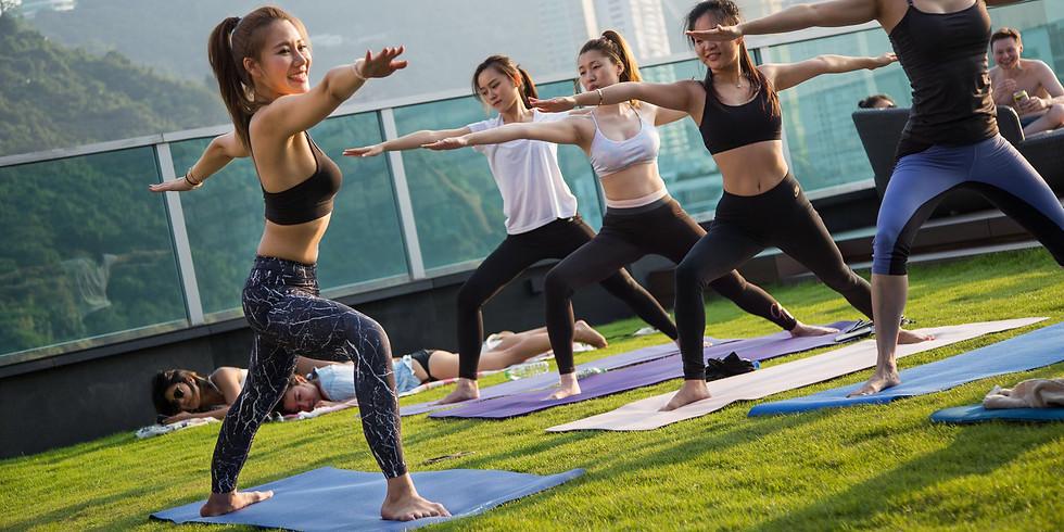 Outdoor Tamar Park Sunset Yoga