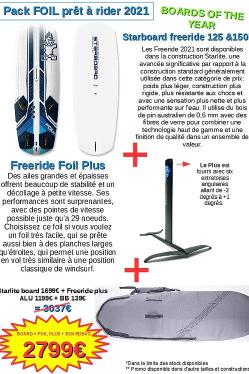 Pack Foil Alu+ Board Starlite+ Boardbag