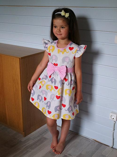 Платье Слоники