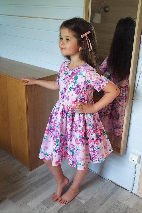 Нарядное платье Цветы
