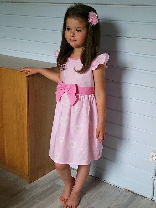 Платье Розовые сердечки