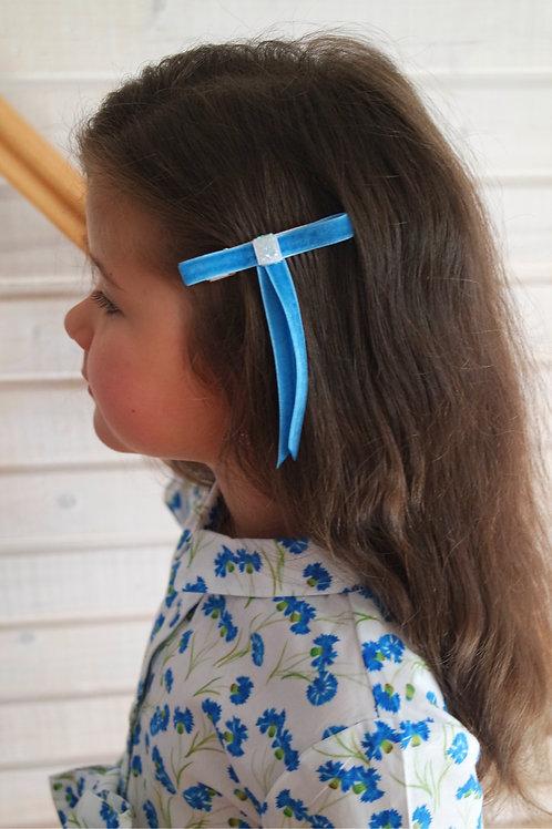 Заколка для волос Милый бантик, в ассортименте