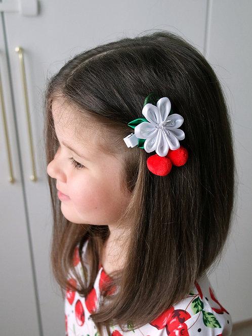 Заколка для волос Спелая вишня