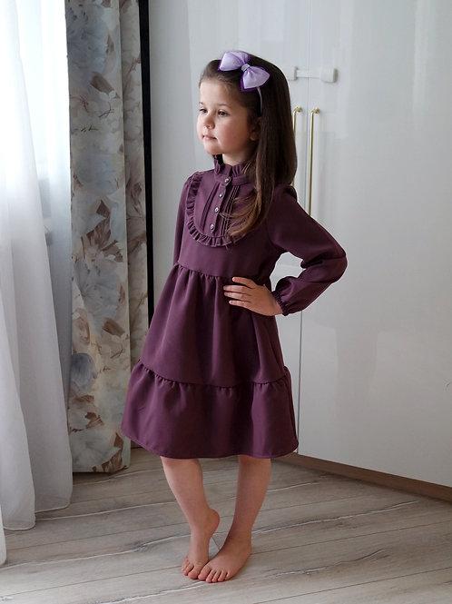 Платье Тёмно-фиолетовое