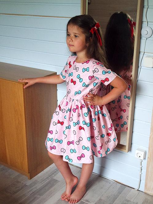 Нарядное платье Бантики