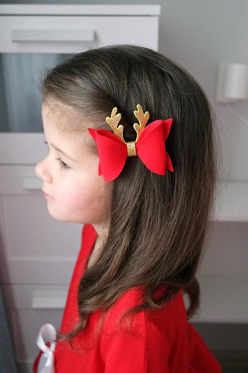 Заколка для волос Оленёнок