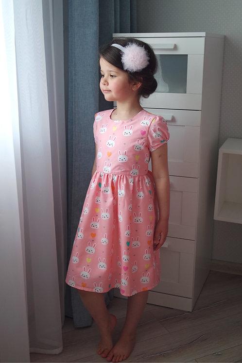 Нарядное платье Зайчики