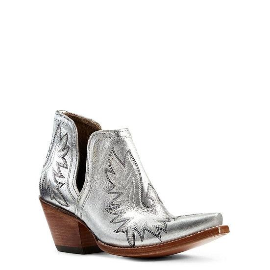 Ariat Dixon Metallic Silver Western Boot