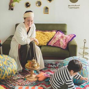 səmsəm exhibition -モロッコから届く、スムスムの展示会-