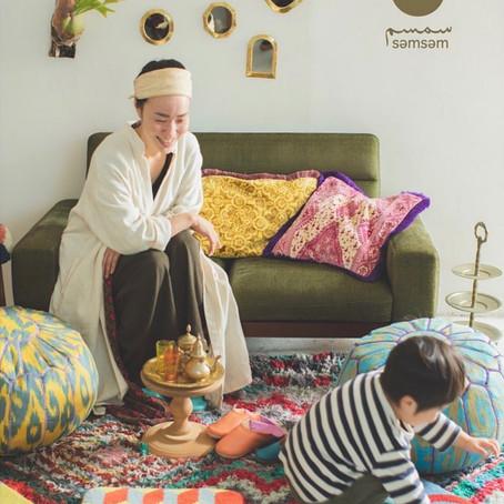 semsem exhibition -モロッコから届く、スムスムの展示会-