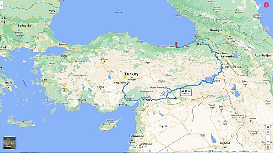 Cappadocia – South East Anatolia –East A
