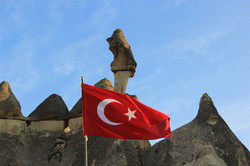 Chimneys pf Cappadocia