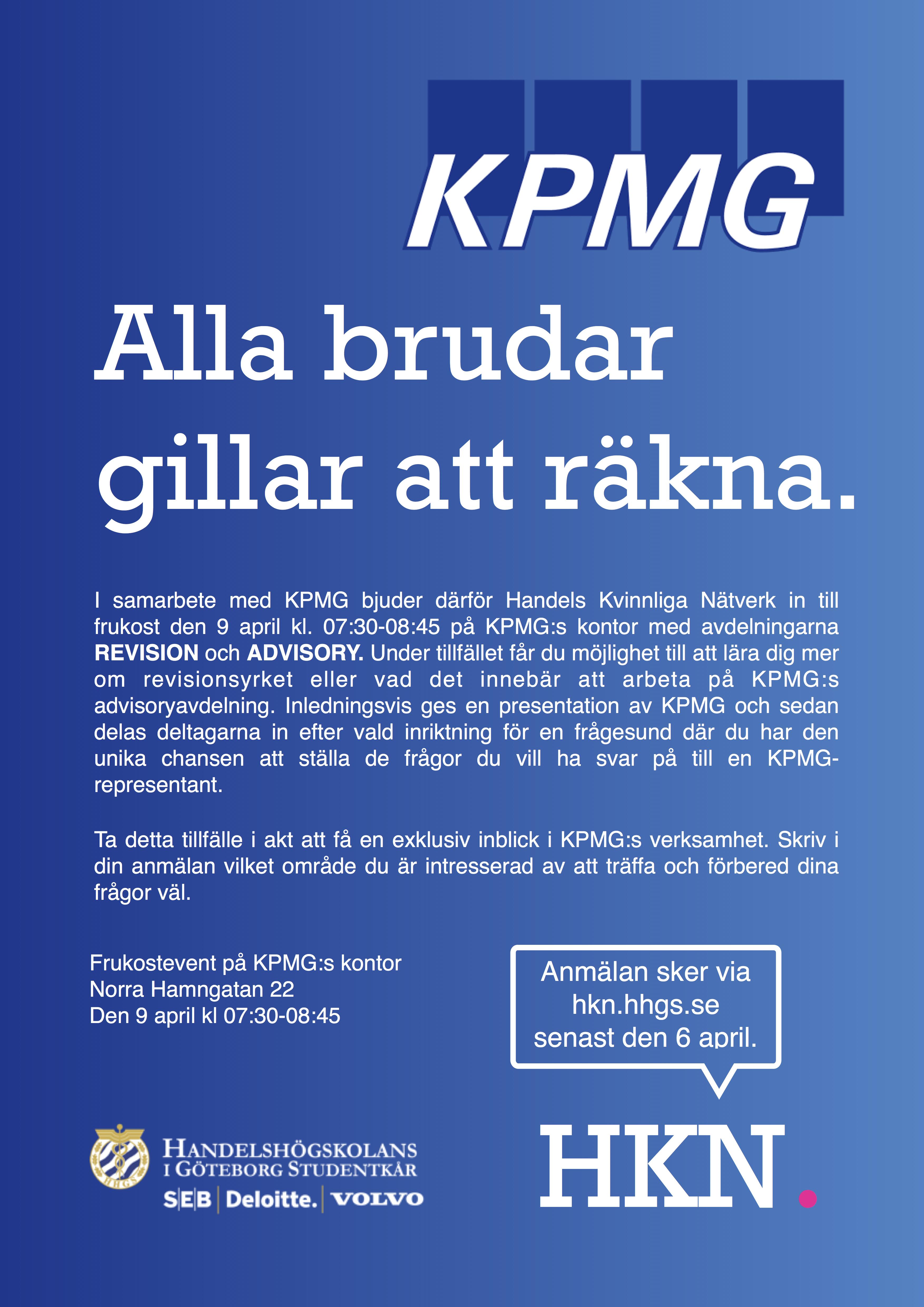 KPMG frukostevent VT 2015