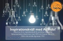 Inspirationskväll Acando