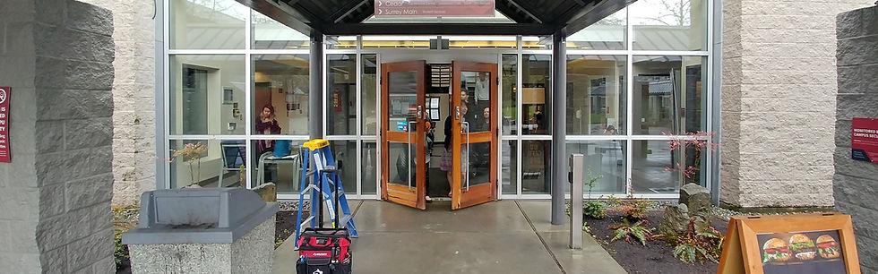 Maintenance Wood Door Automatic Card Rea