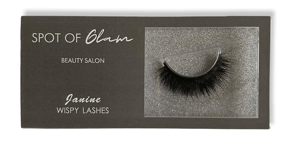 'Janine' wispy lashes