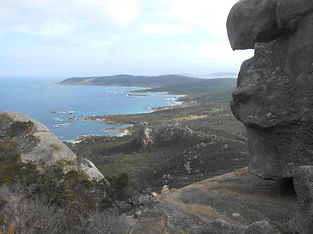 Bush and coastal walking on Flinders Island