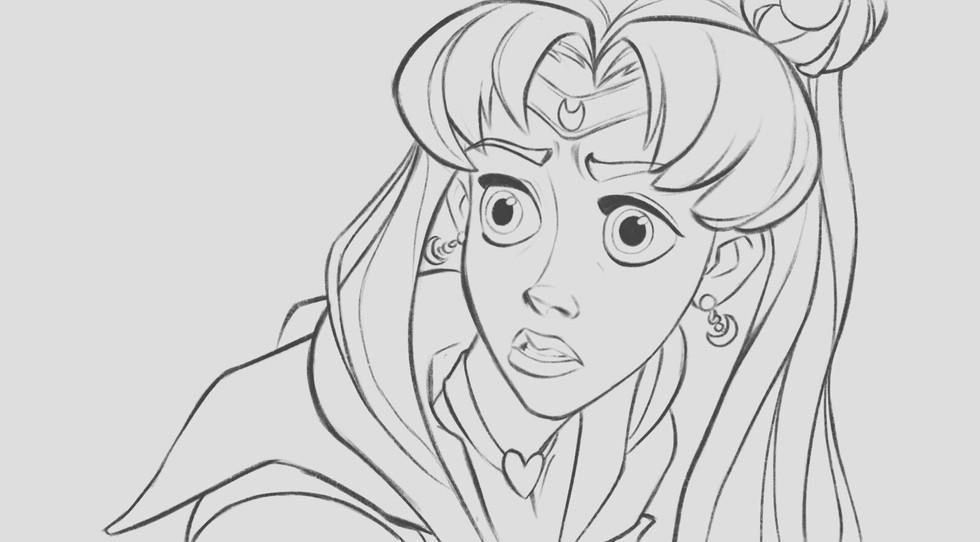 sailor sketch