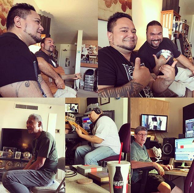 Studio work with legendary talent.