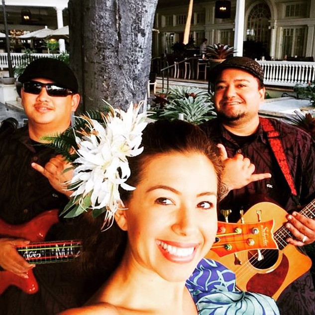 Saturdays at the Moana Surfrider with Jonathan Alcordo and Kamaile.