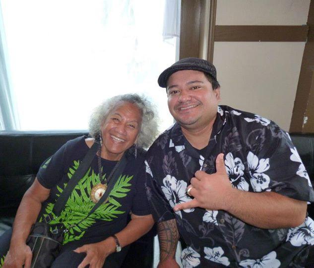 Me and the legendary Diana Aki