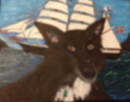 Don Rands' portrait of Meeka