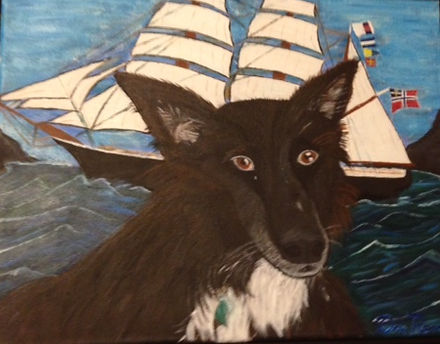 Don Rands' portrait of Meeka
