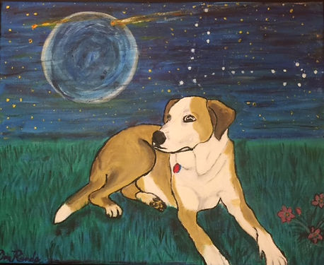 Don Rands' portrait of Cosmo
