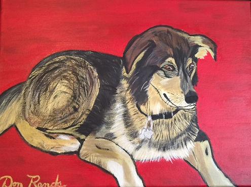 Don Rands' portrait of Casey