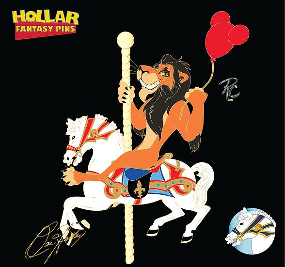 Villains on Carousel Horses: Scar