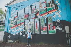 UNC Mural Graduate