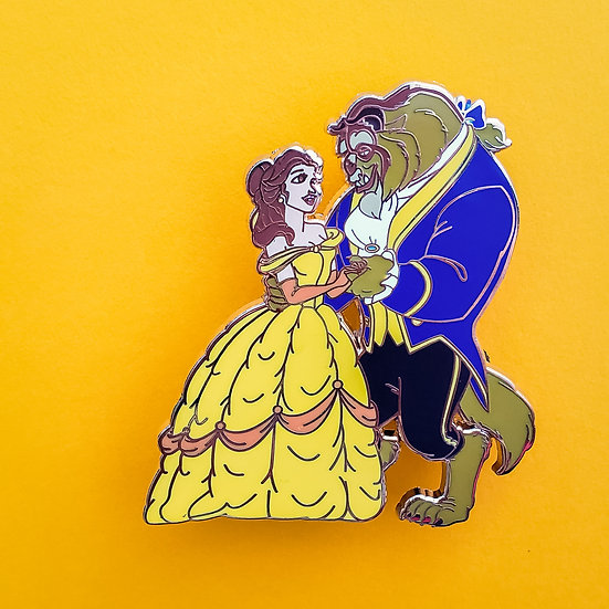 W - Dancing Couples: Belle & Beast