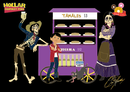 Snack Cart: Coco