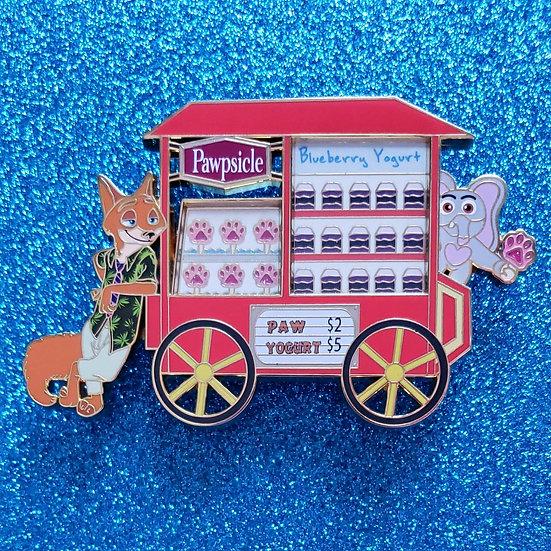 Snack Cart : Zootopia / Pre-Order