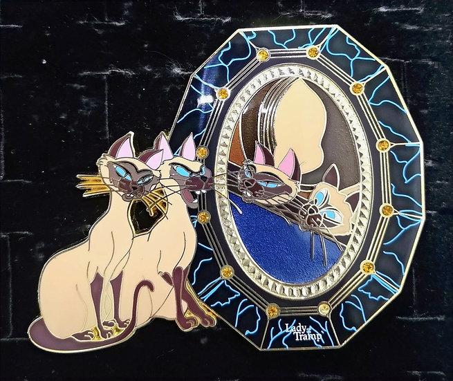 Mirror Mirror : Si/Am: Lady & Tramp