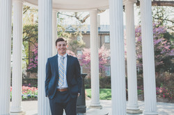 UNC Old Well Graduate