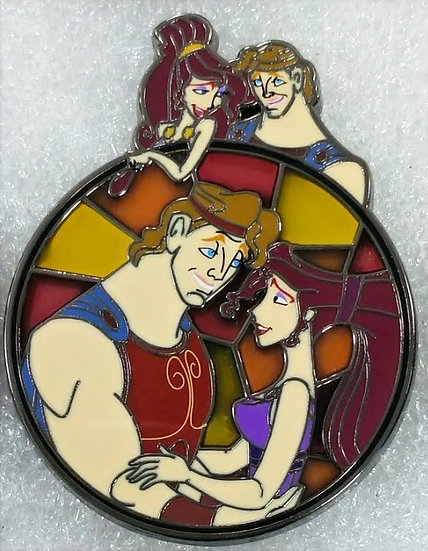 Unconditional Love Stainglass: Hercules